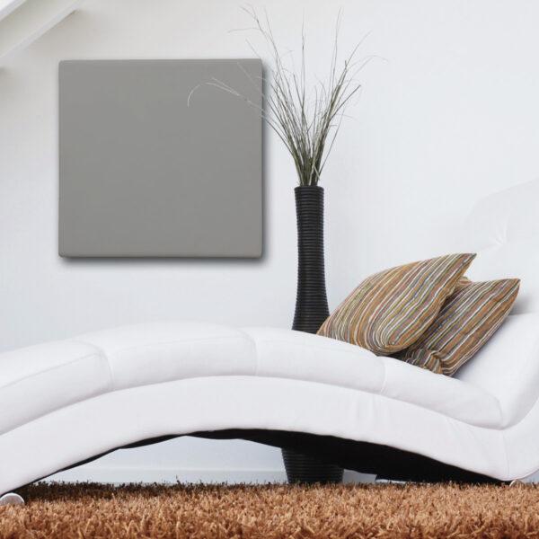Termoarredo radiante cemento design intonacato 60x60 cm