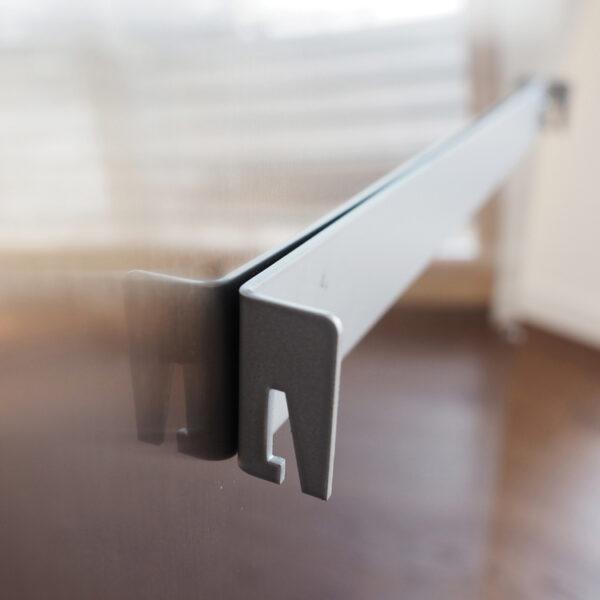 Termoarredo radiante elettrico ferro supporti