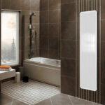 Termoarredo radiante policarbonato bagno bianco