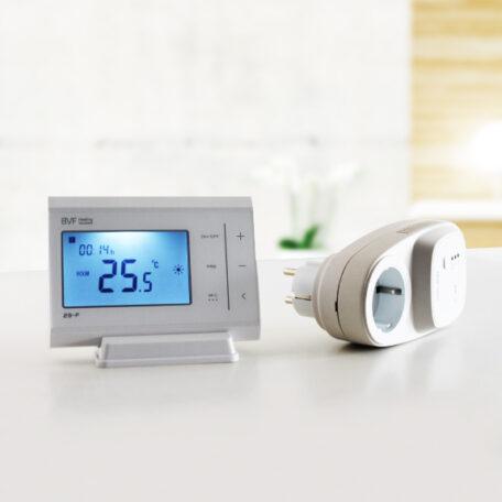 Presa comandata Wifi con termostato