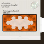 Sottotappeto riscaldante elettrico formato 150x300 cm