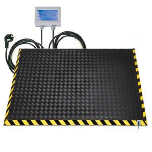Pedana riscaldamento lavoro formato 180x120 cm con termostato