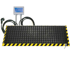 Pedana riscaldamento lavoro formato 180x60 cm con termostato