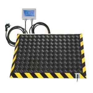 Pedana riscaldamento lavoro formato 90x60 cm con termostato